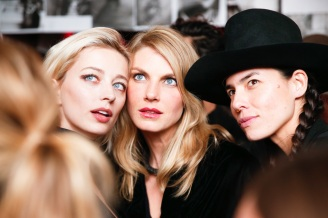 Tasya van Ree, Angela Lindvall, Caroline Vreeland